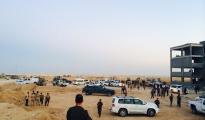 Rückzug der irakischen Brigade nach Shingal, wo sie von Pêşmerga Einheiten empfangen werden | ©ÊzîdîPress (Hassan Omar)