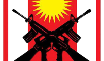 Wappen der Verteidigungskraft Shingals HPŞ