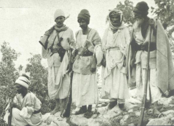 Êzîdîsche Widerstandskämpfer im frühen 20. Jahrhundert (Nelida Fuccaro)