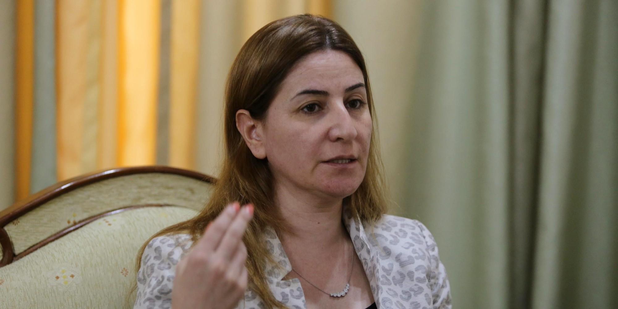 Vian Dakhil fordert für den abgesetzten Peshmerga-Minister die Todesstrafe (Mohammed Sawaf/AFP)