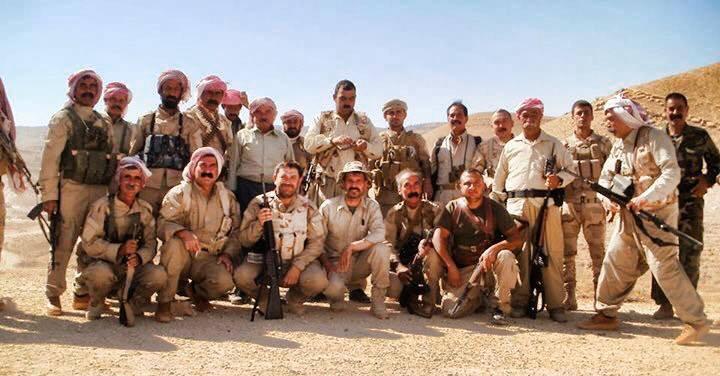 Êzîdîsche Widerstandskämpfer der HPŞ in Shingal