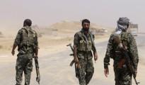 Kämpfer der Widerstandseinheit Shingals (YBŞ) im Shingal-Gebirge [Rodi Said]