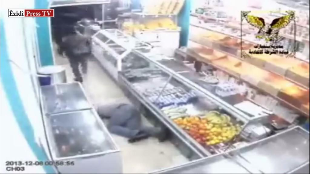 In Zayouna, nahe Bagdad, stürmten radikale Islamisten ein Alkoholgeschäft und töteten Ende 2012 11 Êzîden