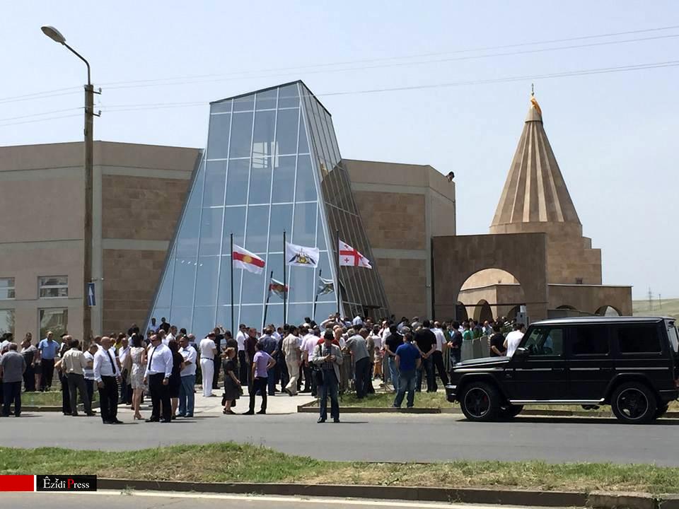 Neue Pilgerstätte und Kulturzentrum der Êzîden in Georgien