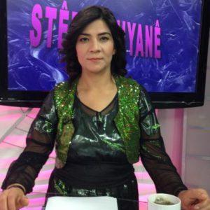 Stêrk TV-Moderatorin und Journalistin Gazal Avanas (Aysel Avesta) (li.) wurde im Nordirak festgenommen