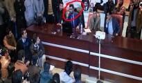 Dr. Abdul Wahid vor dem Untersuchungsgericht in Silêmanî