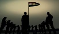Pêşmerga Soldaten der kurdischen Armee