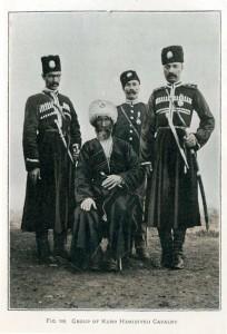 Abb. 9: Gruppe kurdischer Hamidiye-Reiterei