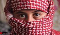 Êzîdîsches Mädchen, das aus der Gefangenschaft der IS-Terroristen fliehen konnte (Archiv)