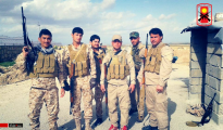 Êzîdîsche Widerstandskämpfer der Verteidigungskraft Shingals (HPŞ)
