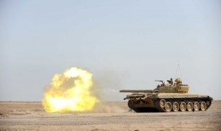 Irakischer Panzer, US-Fabrikat |© GdeFo