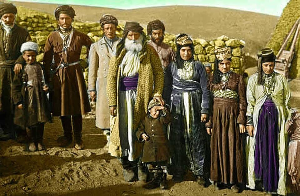 Êzîden aus der Surmali-Region in Georgien Anfang des 20. Jahrhunderts (Mary Anholm)