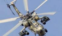 Kampfhubschrauber vom Typ Mil Mi-28, der von der irakischen Luftwaffe genutzt wird