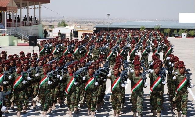 Pêşmerga, Militär der Autonomen Region Kurdistan