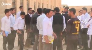 Êzîdîsche Studenten der Universität von Mosul (by Rûdaw)