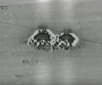 Bombardement der YBŞ-Ausbildungsstätte durch türkische Kampfjets am 25. April 2017 (SC/AA)